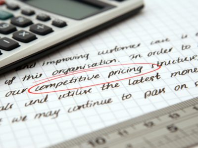 Pricing legal services